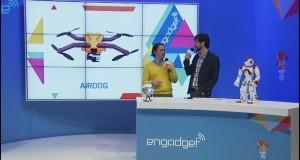 Латвийский AirDog, дрон для съемок видео с помощью камеры GoPro, назван лучшим дроном крупнейшей выставки потребительской электроники - CES 2015