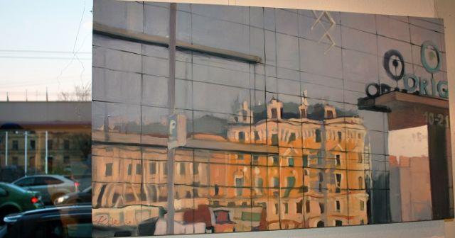 В рижской галерее «Антония» на улице Бривибас, 157, до 18 апреля открыта выставка «Нюансы города» Алисе Медыни.