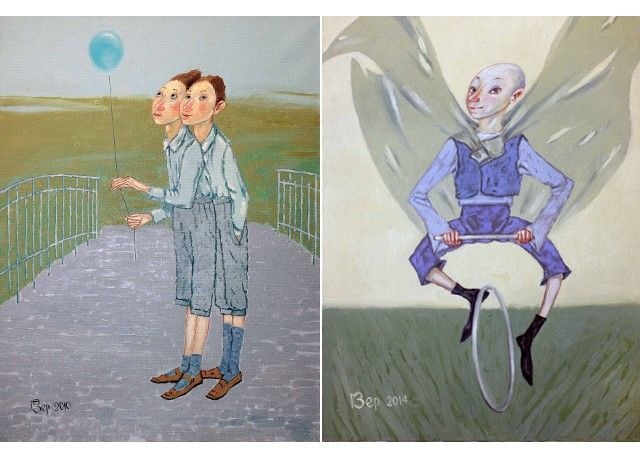 В Tattoo Art Gallery (Рига, улица Стабу, 46/48) почти до конца мая будет открыта персональная выставка Георгия Зерницкого
