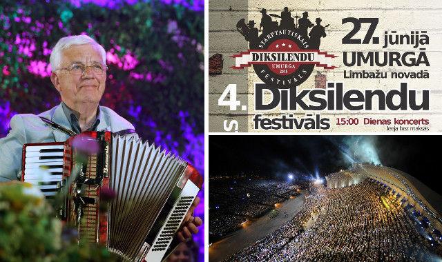 На этой неделе в Латвии - концерт Раймонда Паулса, фестиваль диксилендов Umurga-2015, маленький оперный праздник и VIII праздника песни Балтийских и Северных стран.
