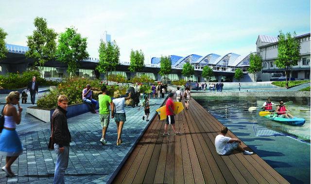 Rail Baltica Riga - PLH Arkitekter 2