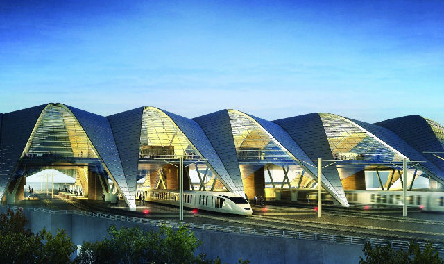 Rail Baltica Riga - PLH Arkitekter