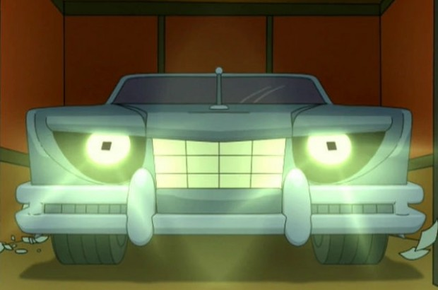 futurama - werecar