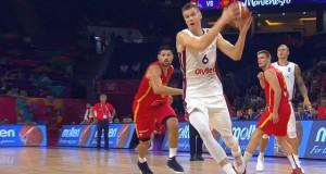 latvia vs montenegro porzingis eurobasket 2017 upd