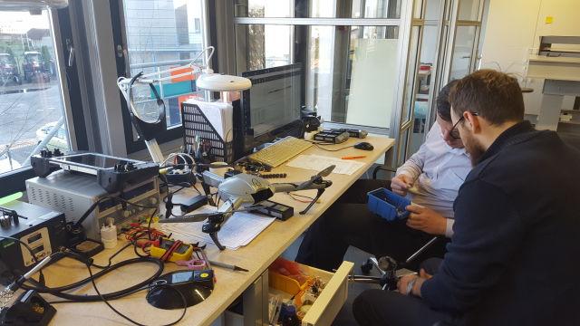 В рижском офисе Atlas Dynamics работают специалисты из Латвии, Израиля, США, Тайваня. Фото: smartlatvia.lv
