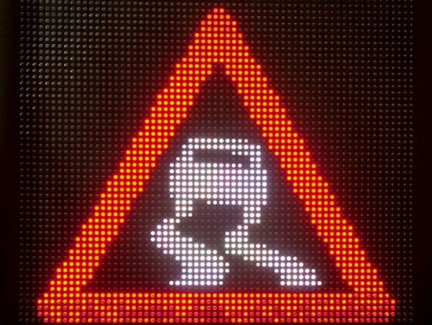 auto electro-znak skolzkaja doroga_opt